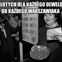 500 zł dla dewelopera, czyli protest przeciwko mostowi Krasińskiego