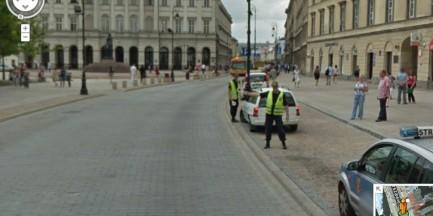 Warszawa w Google Street View