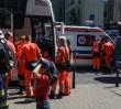 Wypadek autobusu wycieczkowego. 20 dzieci trafiło do szpitala