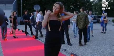 Zjawiskowa Hanna Lis na imprezie TVP!