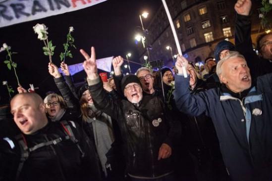 Protest Obywateli RP. Fot. Dawid Zuchowicz/Agencja Gazeta