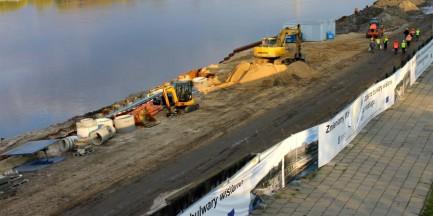 Umowa na bulwary wiślane wypowiedziana. Hydrobudowa Gdańsk ogłosiła upadłość