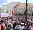 Wiemy, ile osób było na pl. Karasińskich na przemówieniu Trumpa