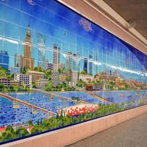 Mozaika na Metrze Politechnika. Prezent od Ambasady Turcji (ZDJĘCIA)