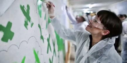 Malowanie korytarzy w CZD (wideo)