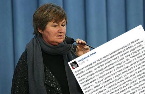 Prof. Magdalena Środa (PAP, Fot: Rafał Guz)/ WawaLove.pl