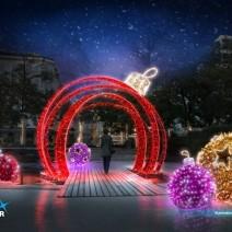 Tak będą wyglądały świąteczne iluminacje (WIZUALIZACJE)
