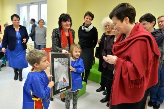 Przedszkole w Wawrze odwiedziła Prezydent Warszawy. Fot. R. Motyl