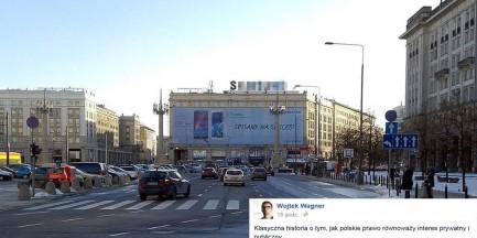 Nowy pomysł Ratusza: jest reklamowa płachta - nie ma dotacji