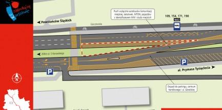 Budowa metra na Woli. Zmiany na Górczewskiej już wieczorem [MAPY]