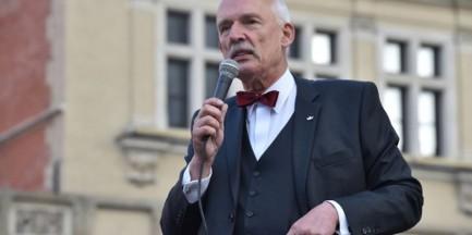 """Korwin-Mikke: """"Gronkiewicz-Waltz nie panuje nad urzędnikami, robią co chcą"""""""