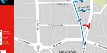 Kolejne utrudnienia na ul. Puławskiej
