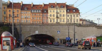 Część tunelu Trasy W-Z jest prywatną własnością!
