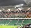 Zamieszki na stadionie Legii