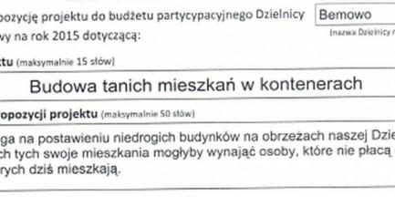 W Warszawie powstaną fawele?