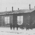 Parowozownia na Wiatracznej, 1905 r.