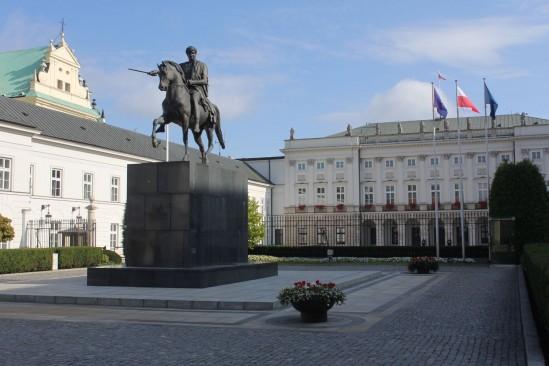 Pałac Prezydencki. Fot. WawaLove