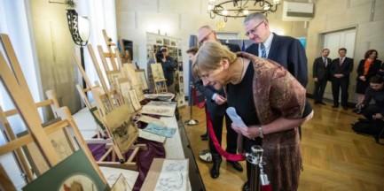 Kolejne zrabowane w czasie wojny dzieła sztuki wróciły do MN w Warszawie