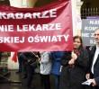Nauczyciele protestują przeciw reformie edukacji. Utrudnienia w ruchu