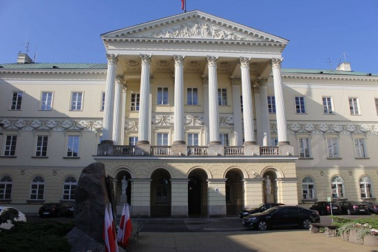 Stołeczny ratusz. Fot. WawaLove.pl