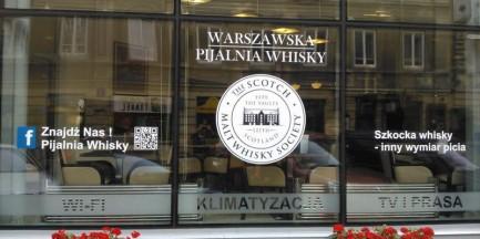 Nowe miejsca: Warszawska Pijalnia Whisky