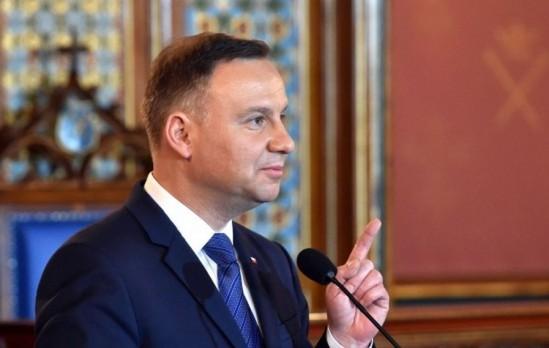 Andrzej Duda. Fot. PAP/Jacek Bednarczyk