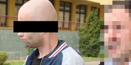 Dwukrotnie uderzył sklepowego ochroniarza nożem