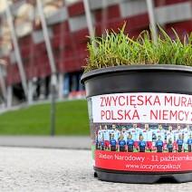 Narodowy rozdaje fragmenty murawy z meczu z Niemcami!