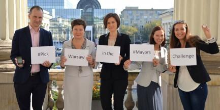Warszawa jednym ze zwycięzców Mayors Challenge!