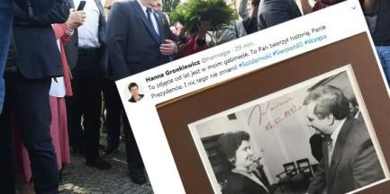 """Hanna Gronkiewicz-Waltz wspomina Wałęsę. """"To Pan tworzył historię"""""""