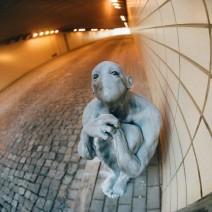 Tajemnicza postać z tunelu odnaleziona