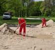Pole Mokotowskie bogatsze o dwa pełnowymiarowe boiska do siatkówki plażowej