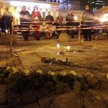 Mężczyzna podpalił się na placu Defilad. Sprawę będzie badać prokuratura