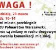 15 tys. zawodników Półmaratonu w niedzielę na ulicach Warszawy!