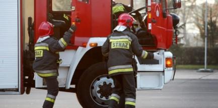 Płomienie w hotelu na Mokotowie. Ewakuowano 300 osób