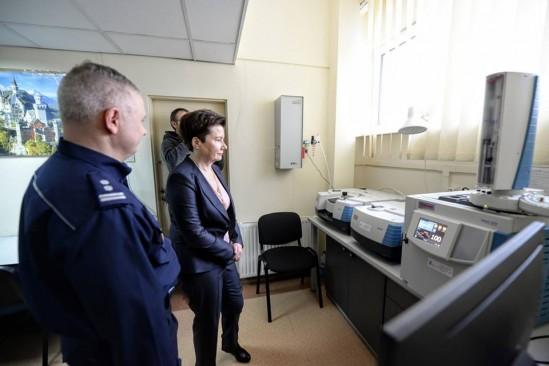 Nowy sprzęt dla policji. Fot. R. Motyl/UM Warszawa