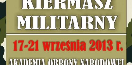 ZA DARMO: Wielki Kiermasz Militarny!