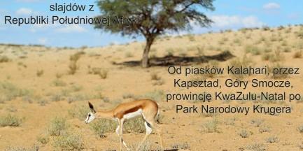 Za darmo: Fauna z subtelną domieszką flory RPA