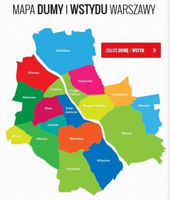 Mapa Dumy i Wstydu [Pierwsze podsumowanie]