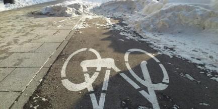 Miasto nie będzie odśnieżać ścieżek rowerowych!