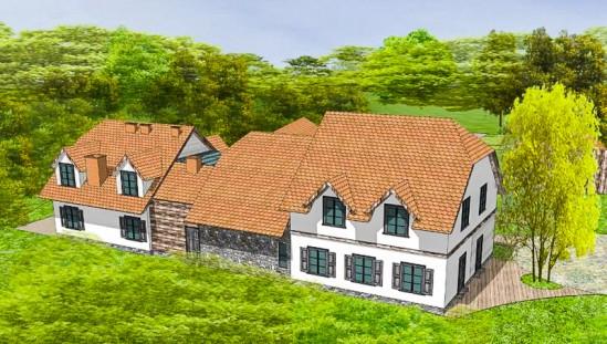 Centrum Edukacji Leśnej - wizualizacja. Foto: SZRM