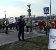 Uwaga, dziś protesty na drogach wjazdowych do Warszawy