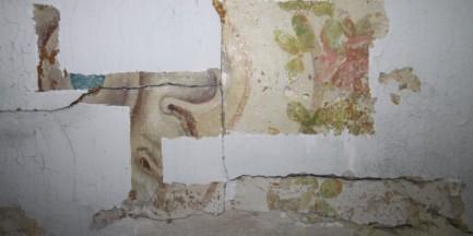 Wielkie odkrycie na Białołęce! Malowidła sprzed I wojny światowej (ZDJĘCIA)